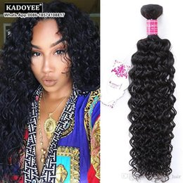 Wholesale Modern Hair Show - Wholesale Price 8A Brazilian Virgin Hair Curly Wave Modern Show Deep Hair Brazilian Human Hair Jerry Curl Bundles Afro Kinky Free Shipping