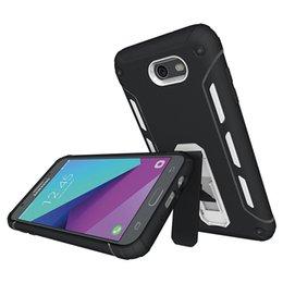 Wholesale Silicone Tpu Slip - For Samsung J7 2017 Case Non-slip Kickstand Case Ultra-thin TPU PC 2 in 1 Hybrid Case For Samsung S7 Iphone7 plus