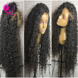 Wholesale Best Quality Remy Hair Wigs - 2017 New arrival Top Quality Brazilian Virgin Human Hair Full Lace Wigs Best Curly Remy Hair Wigs For Black Women Natural Hairline Freeship