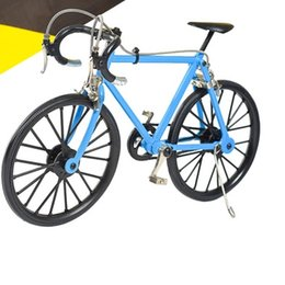 Wholesale Diecast Motorcycle Toy - Mountain Bike Diecast Model Straight Sports Handlecar Shock Absorbers 1:6 for Children Toys