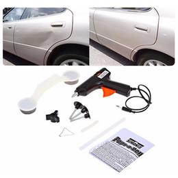 Wholesale Car Care Kit Wholesale - Car styling covers car body damage repair removal tool glue gun diypaint care car repair tools kit fix it pop a dent