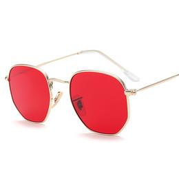 e407ddef23 New Vintage Small Round Sunglasses Women Men Classic Brand Designer Metal  Pink Retro Mirror Sun Glasses Fashion sunglaFemale Lady UV400 VE04