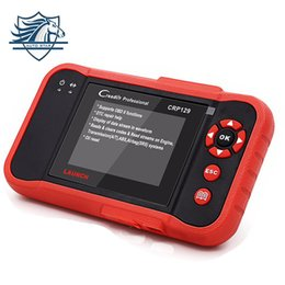 Wholesale Oil Lamp Reset - New Auto Code Reader Scanner Launch X431 Creader CRP129 OBDII EOBD Code Reader Support 4 System CRP129 Oil Lamp Reset Tool
