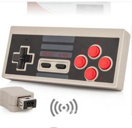 Nintendo nes spiele online-Mini NES Wireless USB-Stecker Spielen Gaming Controller Gamepad 2.4G Mini Classic Edition Joysticks für Nintendo NES Game