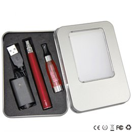 Wholesale Ego Aluminum Box - EGo CE4 Kits CE4 Aluminum Box E Cigarette Kits CE4 e liquid Atomizer eGo-T Battery 650 900 1100mah