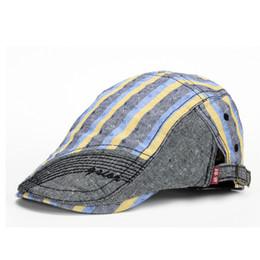 Wholesale Chapeau Femme - Wholesale-new style male flat cap men winter chapeau women newsboy cap female jean beret hat femme bone