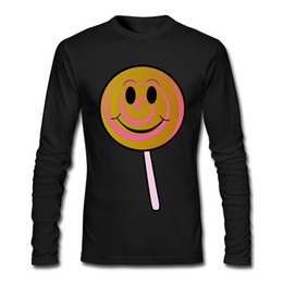 Wholesale Lollipop Cheap - Newest High-quality Cheap casual T-shirts Lollipop Printed Comfortable Tee Shirts Man Tops Male O-neck Clothes Shirts