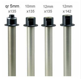 Wholesale Mountain Bike Kit - New Novatec D791SB D792SB Hub Adapters Kits Conversion Kits Converting thru Axle and skewer with Sidecap End caps