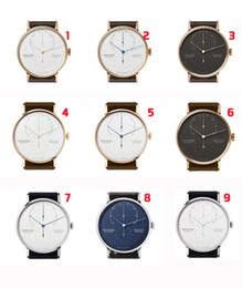Wholesale Army Glasses - NOMOS Luxury Brand Japan Men Quartz Casual Watch Army Military Sports Watch Men Watches Male Leather Clock 2018