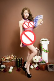 Wholesale Women Costumes Sex Toys - Retro Chinese cheongsam New COSPLAY Sexy lingerie women costumes Sex toys Sexy underwear Role play