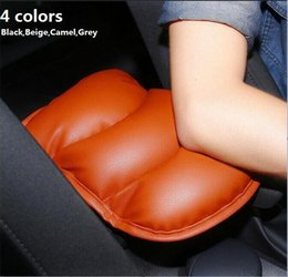 Wholesale Nissan Altima Cars - 2017 Car Leather Central Armrest Console Pad Cover Cushion Soft for Nissan  Sentra  Altima  Qashqai  Rogue Pathfinder  Leaf  Tiida  X-Trail