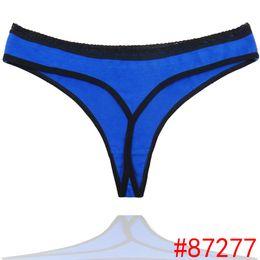 Wholesale Lingerie Lady Skinny - women modal lace many color size sexy underwear ladies underwpanties lingerie bikini ear pants thong g-string 1pcs lot 87277