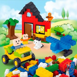Wholesale Blocks Brick M38 - M38-B0502 B0503 Classic DIY 415 Pcs Creative Building Box Blocks Bricks Toys Game Toys for children Decool Lepin