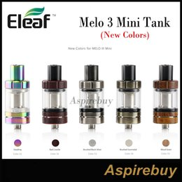 Wholesale Heating Controls - Eleaf Melo III Mini Atomizer 2ML 5 New Colors with Hidden Airflow Control Top-filling Design Heat-insulated Metal Mouthpiece 100% Original