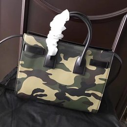 Wholesale Christmas State - Europe and the United States classic fashion trendy camouflage leather ladies handbag