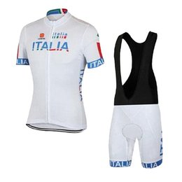 Wholesale Italy Bike - Pro Italy Cycling jersey Ropa Ciclismo short sleeves Mountain MTB Racing Bike Bicycle Cycling Clothing Sportwear D0806