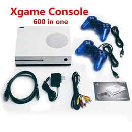 Wholesale Box Arcade - HD Handheld Game Consoles 4GB TV Video Xgame Console Support HDMI TV Out 600 Built-In Games For GBA FC MD Games With Retail Box