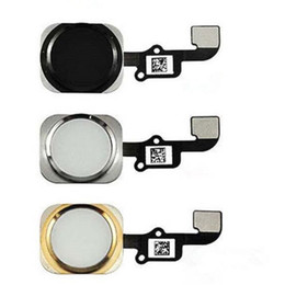 Wholesale Iphone Parts Free Shipping - High Quality For iPhone 6 6 plus 4.7 5.5 inch Complete Home Button Flex Ribbon Cable Touch ID Sensor Replacement Part Free Shipping
