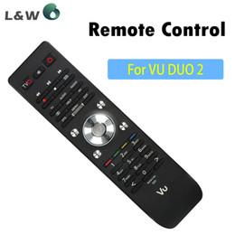 Wholesale Vu Satellite - Wholesale-Satellite Receiver VU Duo 2 Remote Control Good Quality for VU Duo 2 Vu Duo2 Remote Control Free Shipping