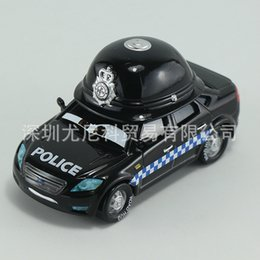 Wholesale Cars Hat For Kids - High Hat Guard Black Police Cars 2 Star WarOriginal Pixar Cars Truck Metal Toy Car Model For Children Kid Birthday Gift