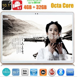 Wholesale Mid Tablet Screens - 10 inch tablet pc 4G LTE octa core GPS Android 5.1 4GB 32gb Dual Camera 5.0MP 1280*800 IPS Screen MID Phablet