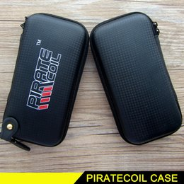 Wholesale E Cigarette Mod X6 - X6 Kts Zipper Case Bags PIRATECOIL Electronic Cigarette Bag X6 E Cigarette Ego Ecig Storage Case For Box Mod Vaporizer Vape Accessory