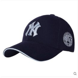 Wholesale Black Star Ball - 2017 all star Saikulitong a cotton NY letter baseball cap outdoor sports lovers peaked cap visor