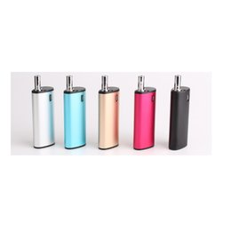 Wholesale Pe Kits - Best Kamry Bin Starter Kits 650mah Oil BUD Box Mod 0.5ml PE Cartridge Atomizer Portable Vaporizer