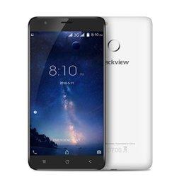 Wholesale Multi Touch Smart Phone - 5.5'' Blackview E7S smart phone multi-lingual mobile phones quad core cellphone 3G dual SIM cell phones 8.0MP Android smartphone