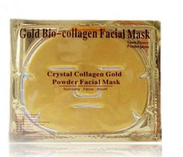 Wholesale Anti Aging Face Mask Powders - HOT sale Gold Bio-Collagen Facial Mask Face Mask Crystal Gold Powder Collagen Facial Masks Moisturizing Anti-aging beauty products in stock