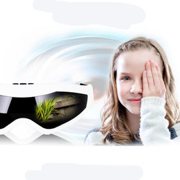 Wholesale Eye Mask Massager - Fashion Delicate Healty Mask Use USB Migraine DC Electric and Battery Care Eye Massager with 1USB Cable