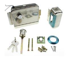 UK free shipping doorbell - Wholesale- FREE SHIPPING Video Intercom Electronic Door Lock For Access Control System Door Phone Doorbell Door Intercom in stock