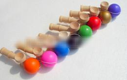 Jouets en bois en Ligne-Balle grande habileté Balle épée Kendama Intéressant en bois enfants adultes jouets pour les personnes âgées