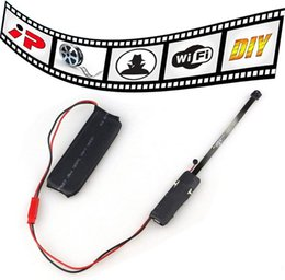 Wholesale mini spy wireless - mini camera SPY Hidden Camera Video wifi P2P ID DIY Module Mini DV DVR Wireless Spy Surveillance Camera