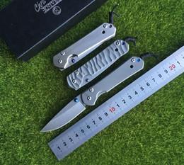 Nuovo Chris Reeve Grande Sebenza 21 Style Titanium Maniglia D2 lama in acciaio Pieghevole Coltello da tasca campeggio Tactical coltelli di sopravvivenza edc strumento da
