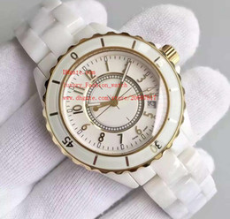 Wholesale Auto Battery Suppliers - Factory Supplier Luxury AAA Brand Wristwatches Ceramic 38mm White Dial Automatic Mechanical Date Mens Womens Wrist Watch Watches