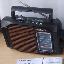 Wholesale High Ra - Wholesale-Specials Retro GOLDYIP RA-1140 high-sensitivity radio U disk   SD card mobile audio AC and DC MP3 USB playback MW 530-1600khz