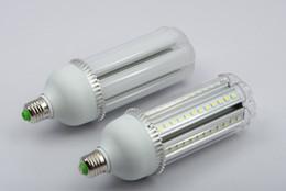 Dissipatore di calore in alluminio per led online-Spedizione gratuita AC85-265V E27 \ E26 \ B22 Base di alta qualità 15 W LED Lampada a mais con coperchio Utilizzato al di fuori del dissipatore di calore in alluminio 3 anni di garanzia