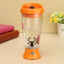 Wholesale Water Jars Wholesale - Wholesale- Electric Protein Powder Shaker Cup 350ml Coffee Milk Juice Shake Automatic Stir Jar Fitness Sports Water Bottle Blender Cup