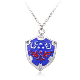 Wholesale legend zelda link - Wholesale-Legend Of Zelda Necklace Pendant For Women Men Charm Necklace collier Zelda Choker statement necklace Accessories collares