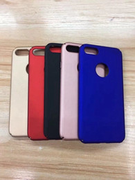 Wholesale Iphone 5s Red Housing - Matte Rubberized Oil TPU Soft Case For Iphone X 8 7 Plus 6 6S 5 5S SE Huawei P10 Plus P9 P8 Lite 2017 V9 Honor 5C 5X Y5 Y6 II Housing Cover