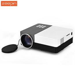 Wholesale Manual Controller - Wholesale-GM50 Portable Home Theater Cinema Beamer LED LCD Projector Video 3D Projector With Remote Controller Support AV USB SD VGA HDMI