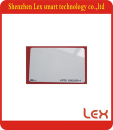 Wholesale Plastic Card Printing - Wholesale- 100pcs lot Printed TK4100 125khz Plastic VIP Cards Identification Key Cards Make Blank White Plastic ID Card