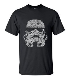 Wholesale White Mask Star Wars - Men 2016 Summer Fashion star wars Yoda Darth Vader Unique Masculine Streetwear T-Shirt Man Casual T Shirts masks Words Hip Hop