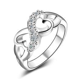 оптовые ювелирные изделия из алабамы Скидка Обручальные кольца для женщин высокая оригинальность восемь колец с ювелирные изделия оптом YDHR119