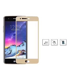 Wholesale Impact Protectors - For LG Lv1 Lv3 Lv5 Lv7 Lv9 Impact Resistance Prenium 2.5D edge technology Curved Edge Full Cover Silk Screen Protector Tempered Glass