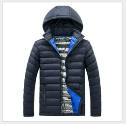 Wholesale Nylon Zipper Manufacturers - 2018 best-selling new men's jacket collar cold light fashion down cotton casual outdoor manufacturers direct free shipping