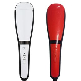 Wholesale Straight Sprays - Hair Straight Brush Automatic LCD Comb Digital Electric Hair Straightening Irons Hair Comb With Spray Styling tools Machine DHL free Towoto