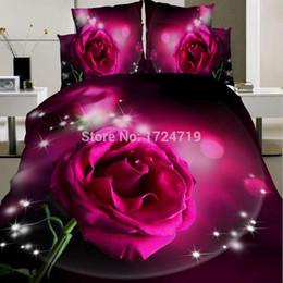 Wholesale Cheap 3d Quilts - Wholesale-3D Animals Pastoral Cheap Cotton Bedclothes Quilt   duvet Cover Sets Double Bed 4pcs   Fashion Bedding Set King Size Wholesale