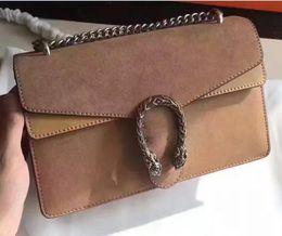 Wholesale Trendy European Fashion - fashion hot genuine leather chain G folded shoulder bag 28*18*9cm luxury trendy brand handbag crossbody messenger handbag 400249 top